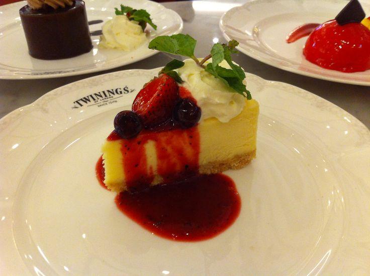 Burberry Cheese Cake