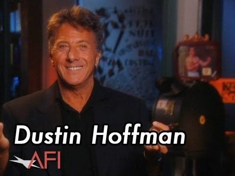 Dustin Hoffman made me cry today.