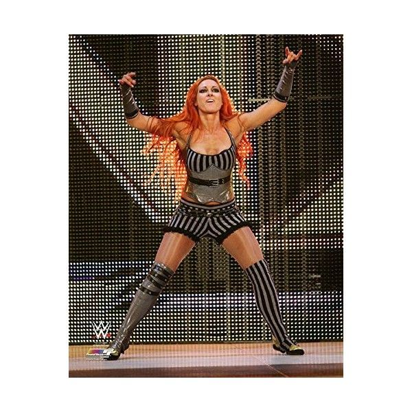Becky Lynch WWE 8x10 Photo (2015 debut) ❤ liked on Polyvore featuring home, home decor, frames, 8x10 picture frames and 8x10 frames