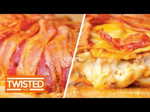 Bacon Wrapped Lasagna | Twisted - YouTube