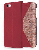 LAUT K-Folio Bookcase iPhone 6 Red