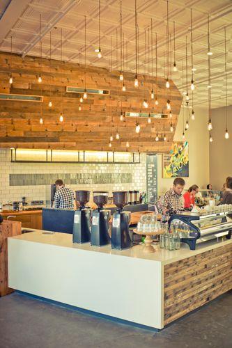 Verve Coffee Roasters in Santa Cruz. My favorite place in the city.
