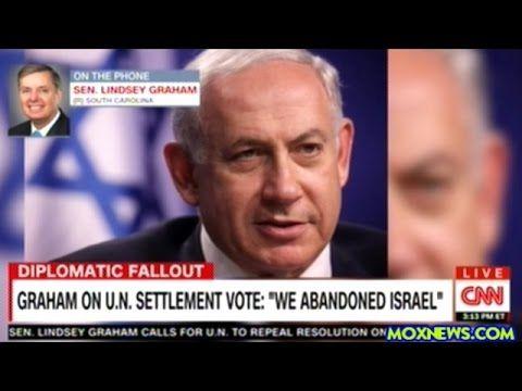"Sen Graham ""Obama Is Just Not Giving The Finger To Bibi! He's Putting En..."