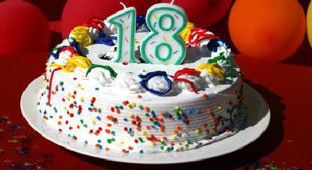 18-Geburtstag-Feier