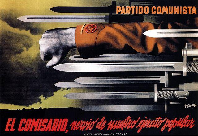 Josep Renau, Communist propaganda, 1937 by kitchener.lord, via Flickr