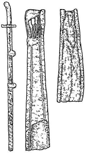 Kök Turk Saber and Arrows