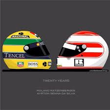 Ayrton Senna & Roland Ratzenberger  1/05/1994 & 30/04/1994  Darkest moment in history of F1 where two racers died in one weekend a day after another in qualifying and race. SAN MARINO!  Rest in peace with angels!!