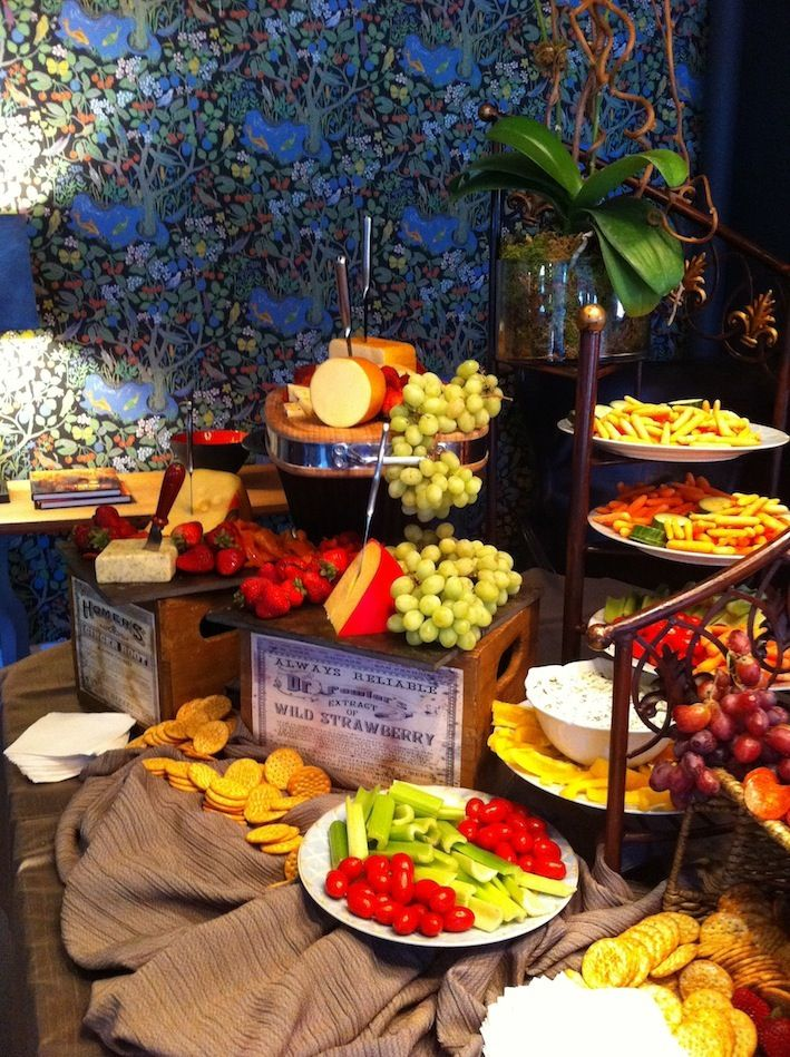 Food Display By Blue Elephant Events And Catering Food