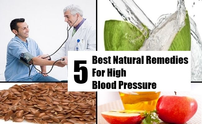 5 Best Natural Remedies For High Blood Pressure