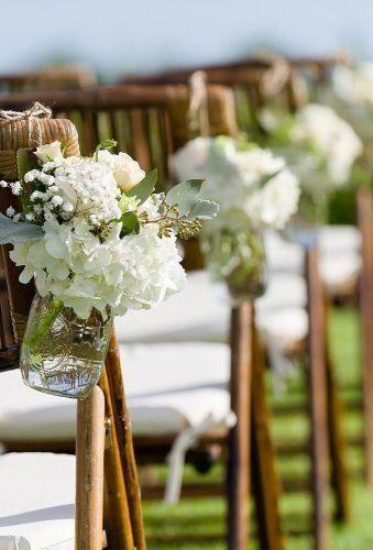 Schöne Hochzeit Gang Dekoration Ideen ★   – My Bright Wedding