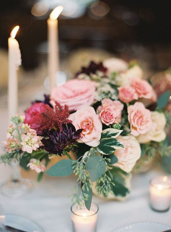 Best dahlia wedding centerpieces ideas on pinterest