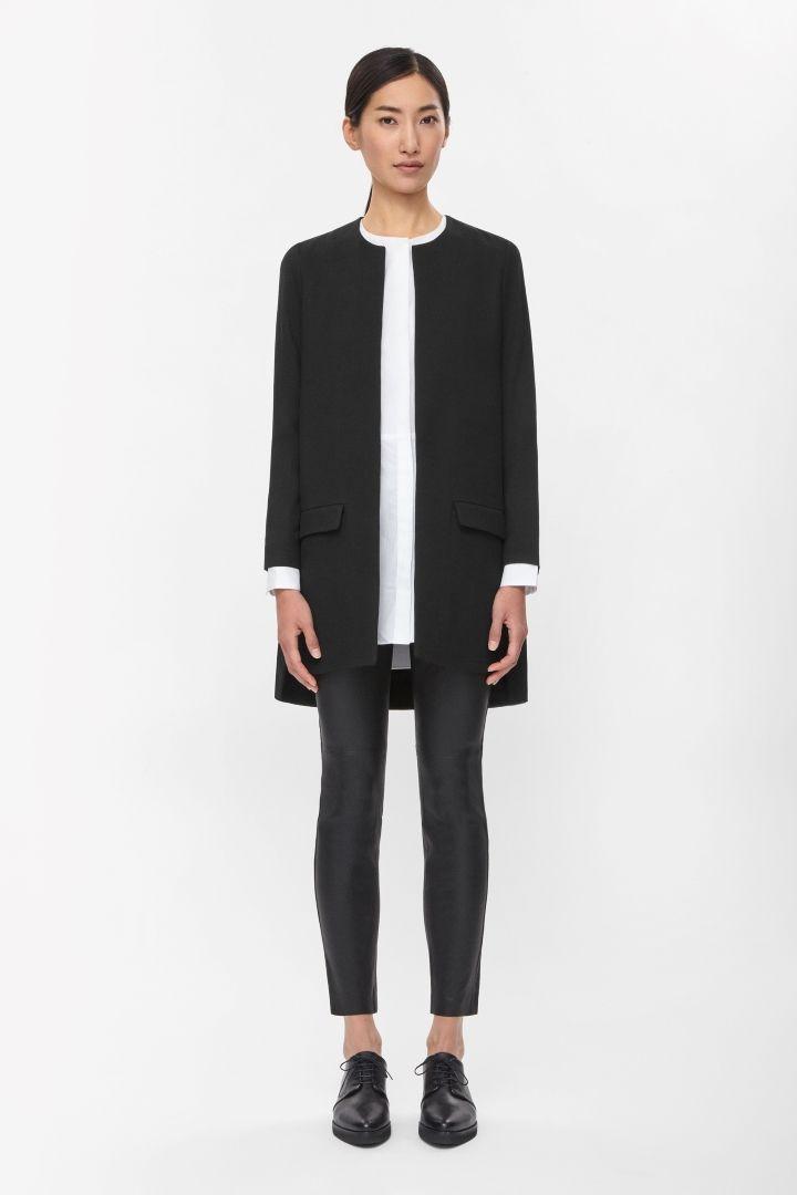 COS | Round-neck blazer