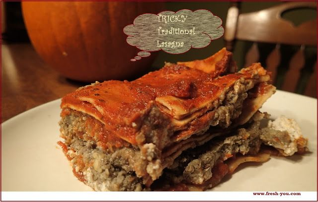 Fresh-You Nutrition, Fitness, and Wellness: Tricky Traditional Lasagna, Simplified :)
