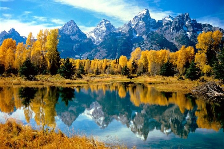 The Tetons in Wyoming ...one of the best trips of my life. First time my mom took me out west to see real moutains.
