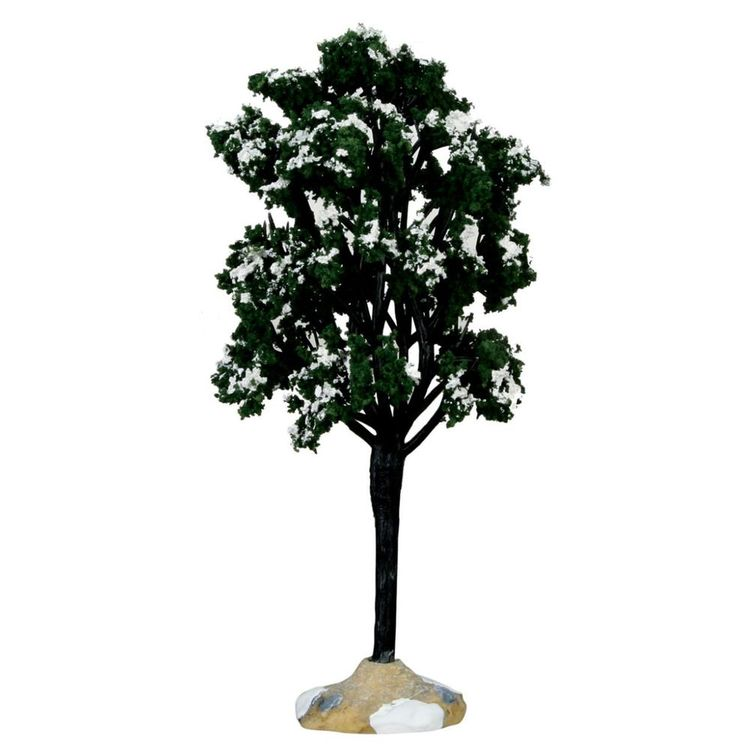 New LEMAX VILLAGE COLLECTION BALSAM FIR TREE - LARGE #Lemax
