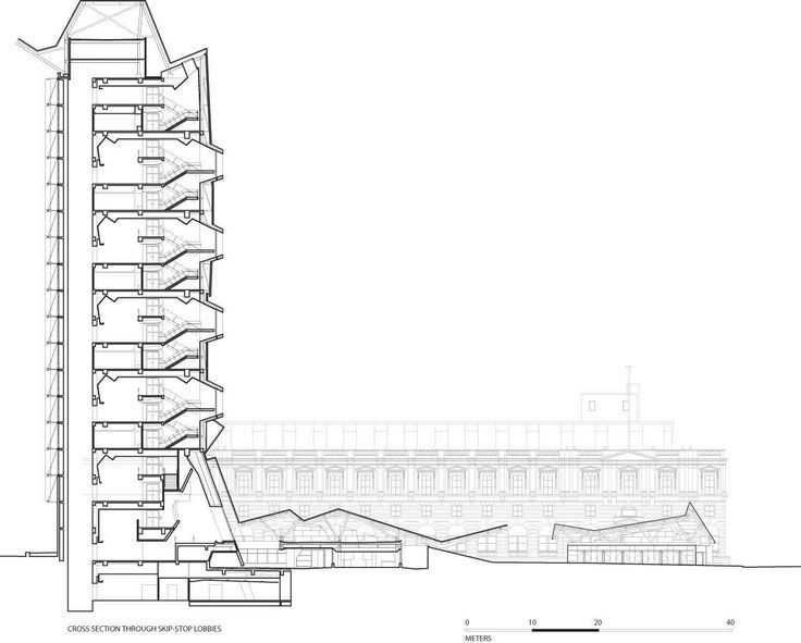17 best images about morphosis architects drawings on