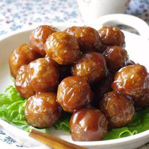 定番!肉団子の甘酢あんかけ+by+高羽ゆきさん+|+レシピブログ+-+料理ブログのレシピ満載! シンプルな肉団子の甘酢あんかけです。タレをたっぷり絡めて♪