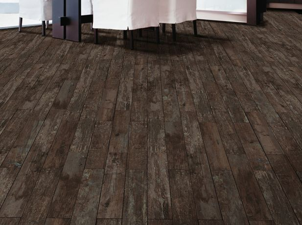 Wood Plank Porcelain: Ecowood Wenge floor