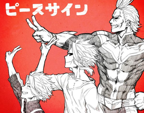My Hero Academia The Three Stages Of All Might I Really Like