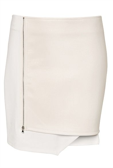 Witchery Zip Wrap Skirt