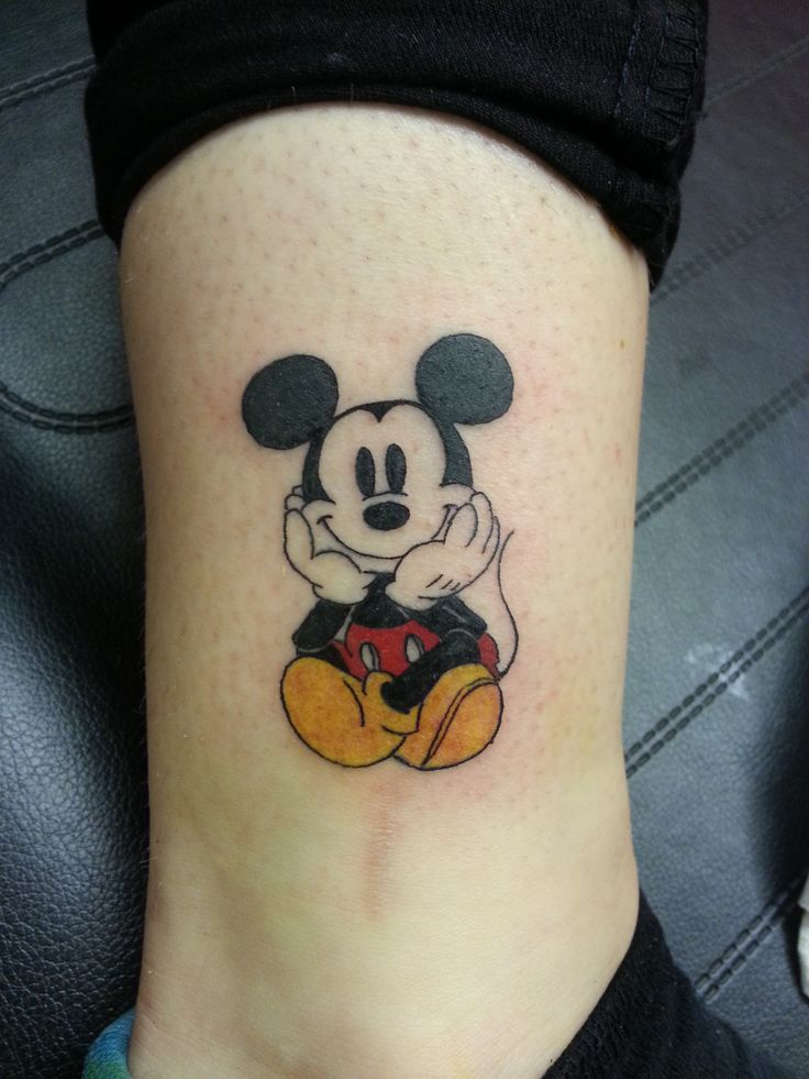 Mickey and Disney Tattoo to Inspire
