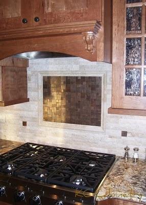 Kitchen Backsplash Focal Point 34 best kitchen backsplash treatments images on pinterest