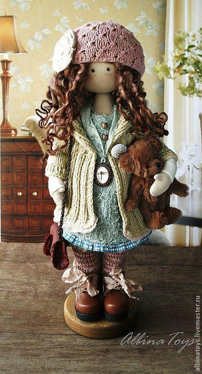 Мэгги. Бохо. - коричневый,бохо,бохо стиль,кукла ручной работы,кукла в подарок