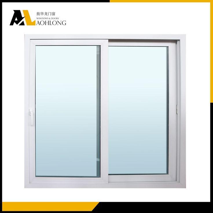 Double Co-extrusion Profile PVC Sliding Glass Window