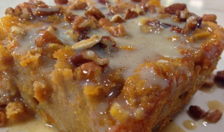 Grandma's Old-Fashioned Bread Pudding with Vanilla Sauce! – 1K Recipes!