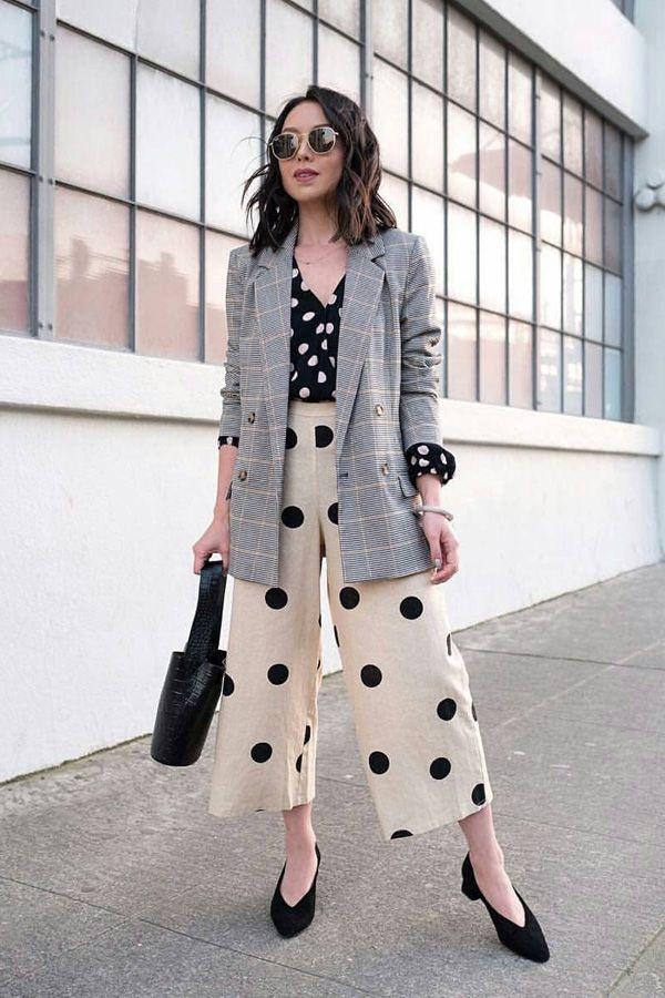 Os looks que queremos usar com a pantacourt na meia estação | Produtos desejo in 2019 | Fashion, Fashion outfits, Work fashion