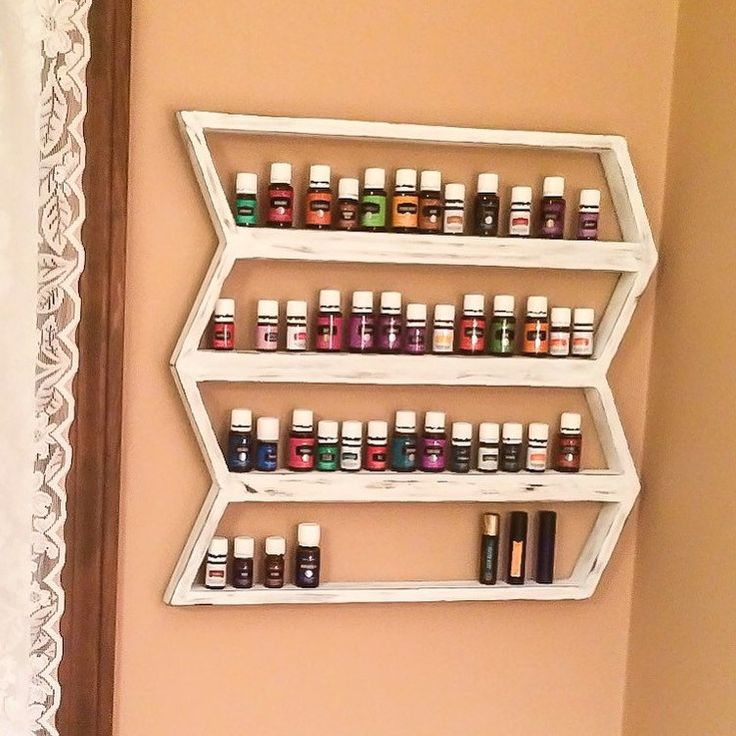 Essential oil holder shown in distressed white, available in 10 colors!