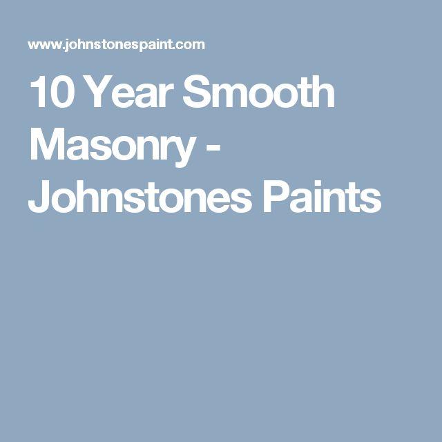 Best 25 masonry paint ideas on pinterest - Johnstones exterior masonry paint ...