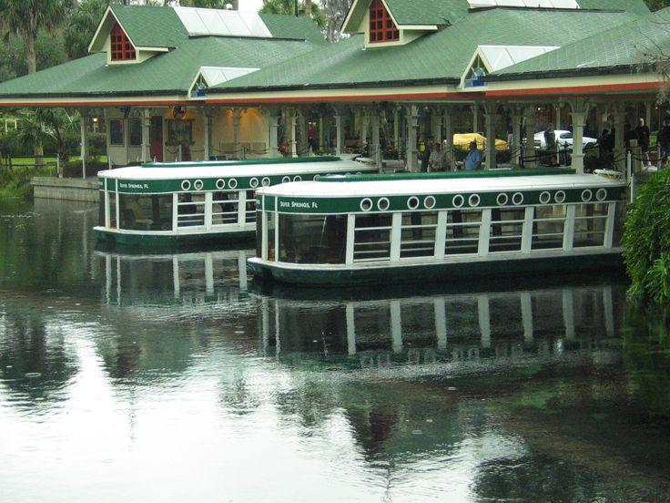 Glass Bottom Boat Tours In Silver Springs, FL.