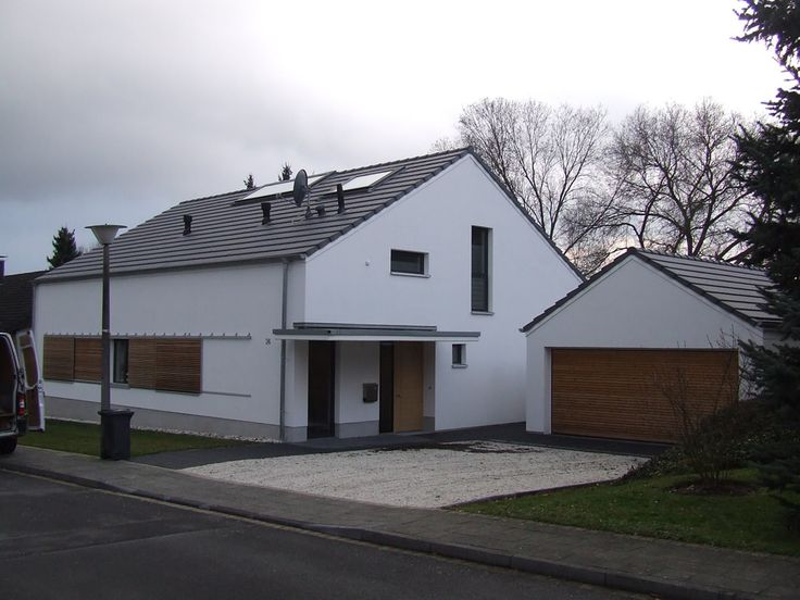 Satteldach ohne dach berstand ideas for the house for Modernes haus ohne dach