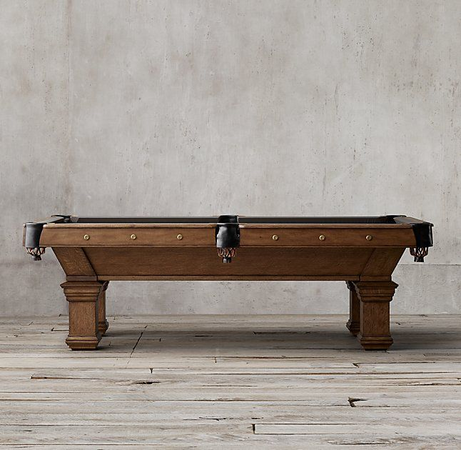 Brunswick Vintage 1906 Billiards Table Play Stuff Pinterest Formal Dining Rooms