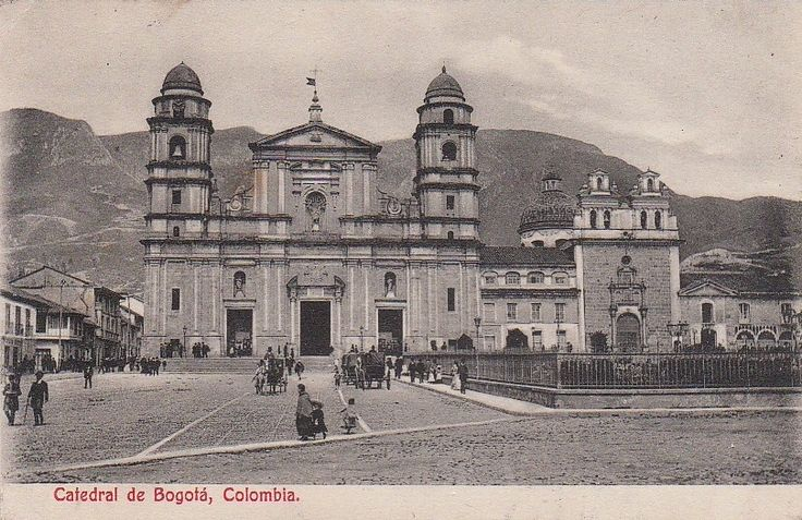 Catedral de Bogotá en 1916