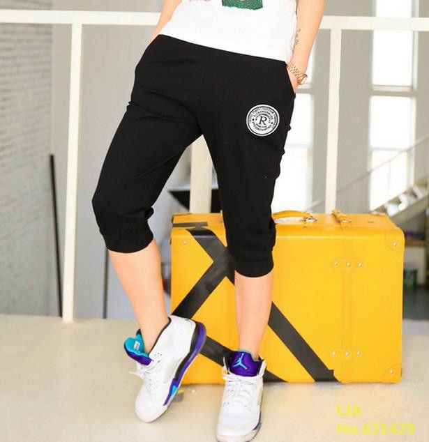 2016 New Summer Women Casual Harem Pants Female Deportes Women's Skinny Deporte Pants Long Seven Short Capris Trousers K010