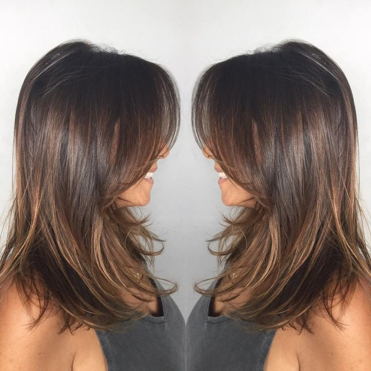 color and style hair best 25 medium hairstyles ideas on 2760