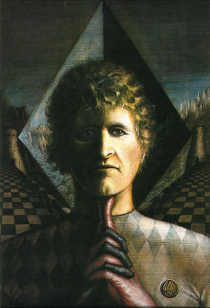 Schach, Schachspieler, Mann,malerei,gemälde,schachspiel, Chess, Chess Player
