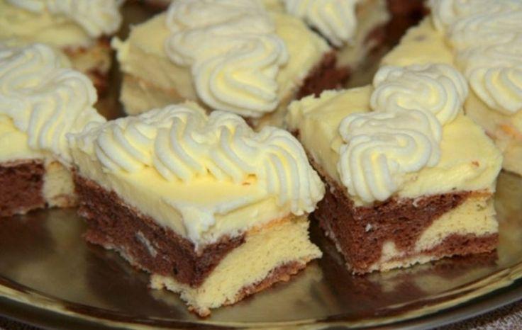 Ez a sütemény egy igazi ínyencség a vaníliás krém, a mascarpone és a tejszínhab együttes ízhatása rövid időn belül elnyeri mindenki tetszését és...