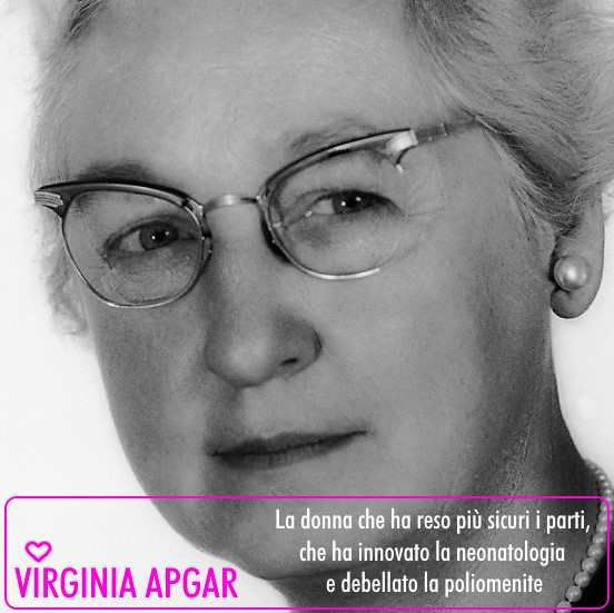 Virginia Apgar www.tizianagiusto.it #31donnechehannocambiatoilmondo