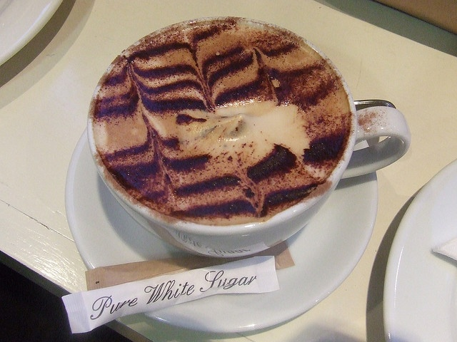 Fallon & Byrne Cappucino by Enfant Terrible by Sasha Bond, via Flickr