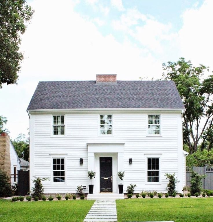 154 Best Colonial Homes Decorating 3 Images On Pinterest: Best 25+ Colonial House Exteriors Ideas On Pinterest