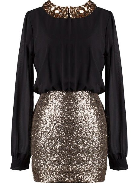 Secretary Sparkler Dress   New Years?: