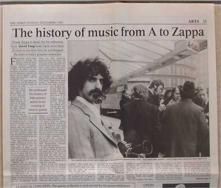 frank zappa research paper Japanese paper-sleeve cd this is a really hard to find variation on a great zappa lp this is the zoot allures rca record club edition frank zappa jwb.