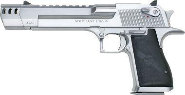 Magnum Research Desert Eagle Pistols.....50-caliber with Muzzle Break  ...................THE BEAST.....................