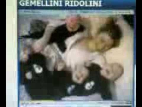 gemellini ridolini - YouTube