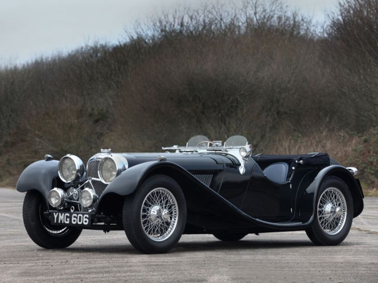 1937 Jaguar SS100 - 2 1/2 Litre Roadster, one of the most sought after pre-war sports cars                                                                                                                                                     More