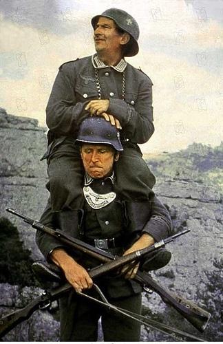 La Grande Vadrouille de Gérard Oury, 1966 (Terry-Thomas, Bourvil, Louis de Funès, Claudio Brook)