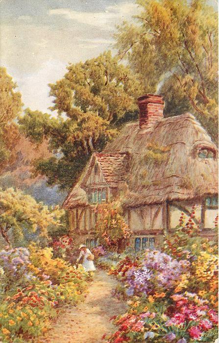 54 Best Images About Vintage Cottage Prints On Pinterest